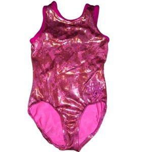 GK Nastia | Pink Foil Leotard Leo | CM